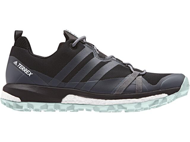 adidas TERREX Agravic Zapatillas Mujer, core black/grey three/ash green